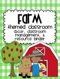 Farm Theme Classroom {Decor, Classroom Management & Resources}