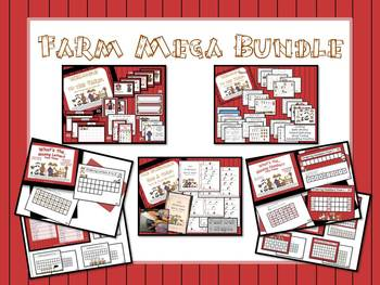 Farm Theme Classroom Materials - MEGA Bundle