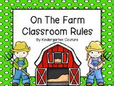 Farm Classroom Rules