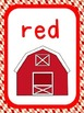 Farm Theme Color Identification Posters