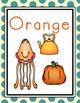 Farm Theme Color Posters