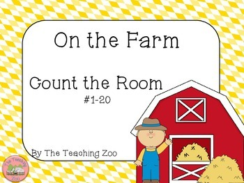 Farm Theme Count the Room {1 to 20}