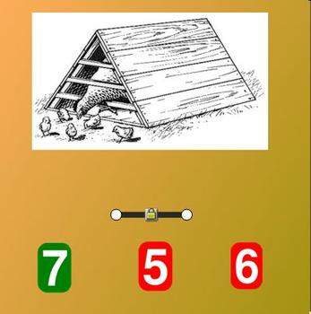 Farm Theme:  Counting to 20 Whiteboard Activity