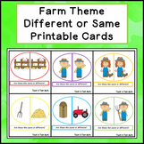 Farm Theme:  Different or Same