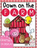Farm Theme Display (Farm Theme Craftivity)