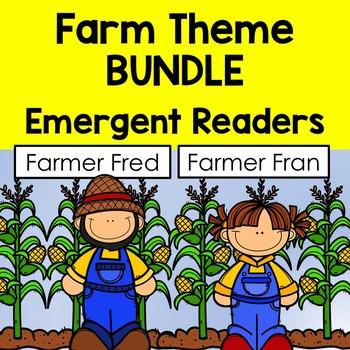 Farm Theme BUNDLE - Emergent Readers