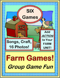 """Farm Theme Fun!"" -- SIX Best-Ever Group Games and Songs"