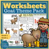 Farm Theme: Goat Pack Reading, Writing, Language and Math