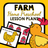 Farm Theme Home Preschool Lesson Plans