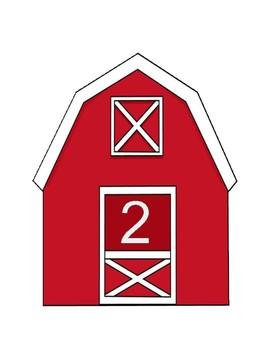 Farm Theme Math Center