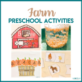 Farm Theme Preschool - Math, Literacy, STEM, and Art Centers