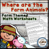 Farm Theme Math Worksheets for Your Farm Theme, (Distance