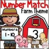 Farm Theme Number Match (Farm Theme Centers)