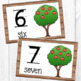 Number Posters with Tens Frame - Farm Theme