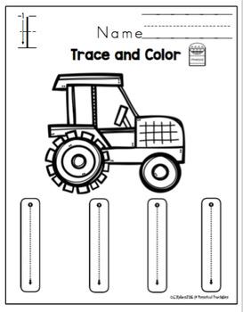Farm Theme Number Practice 1-10