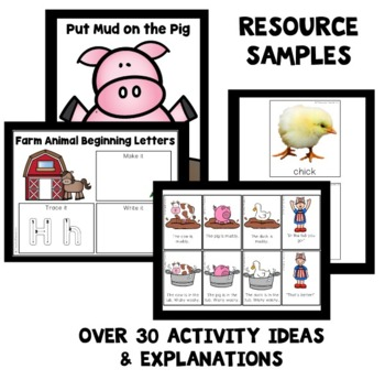 Farm Theme Preschool Lesson Plans