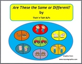 Farm Theme:   Same or Different Book and Game