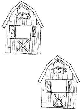 Farm Theme Sentence Writing