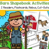 Farm Animals Reader With Supporting Activities for Preschool and Pre-K