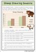 Farm Theme: Sheep Pack Reading, Writing, Language and Math