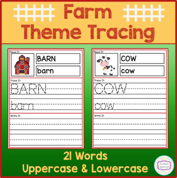 Farm Theme Tracing