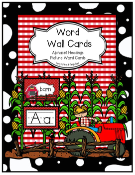 Farm Theme Word Wall