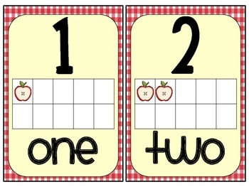 Farm-Themed ABC, Number, & Color Cards