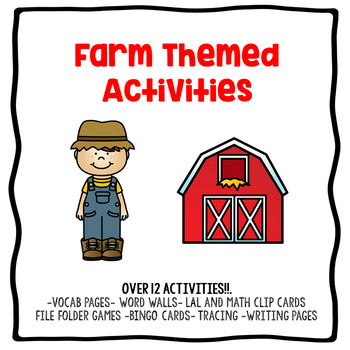 Farm Themed Activities