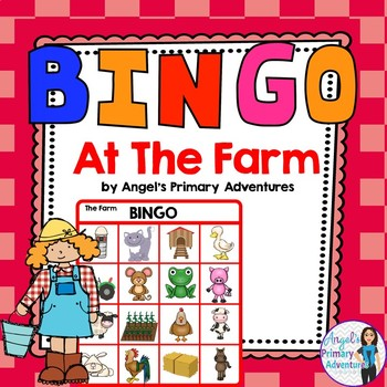 Farm Themed Bingo Game