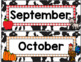 Farm Themed Calendar Set-Classroom Decor