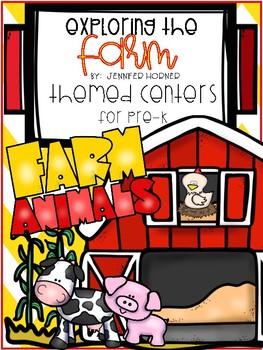 Farm-Themed Center Activities for Pre-K