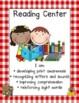 Farm Classroom Decor: Center Signs