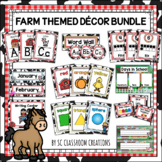 Farm Themed Classroom Decor Set (Mega Bundle)