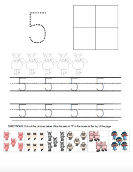 Farm-Themed Counting Practice and Number Sense