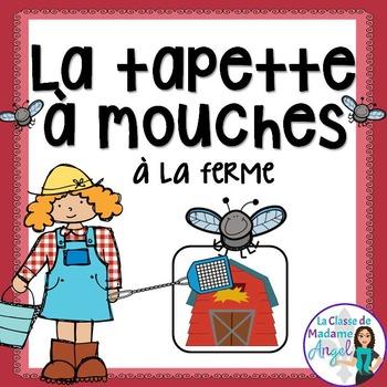Farm Themed Game in French - La tapette à mouches (la ferme)