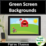 Farm Themed Green Screen Activity