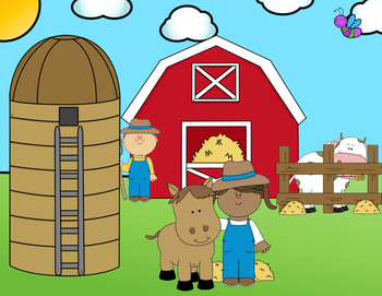 Farm Themed I-Spy Sight Words