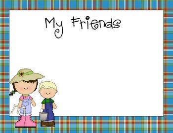 Farm Themed Kindergarten Portfolio