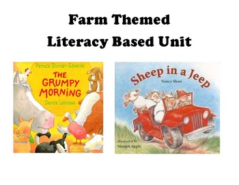 Farm Themed Literacy Based Unit--Moderate to Severe Disabilities