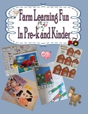 Farm Themed Math and Literacy Games, Centers, Crafts, and Manipulatives