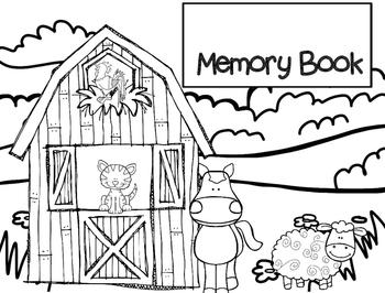 Memory Book Farm Theme