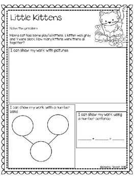 Farm Themed Number Bonds (Common Core Aligned K.OA.1 & K.OA.2)