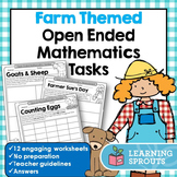 Farm Themed Open Ended Mathematics Tasks