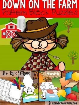 Farm Themed Pattern Block Puzzles