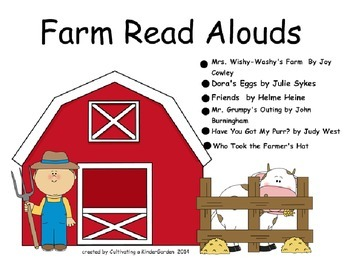 Farm Themed Read Aloud Lessons