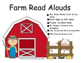 Farm Themed Read Aloud Lessons