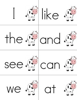 Farm Themed Read and Write the Room- Sight Word Edition