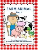 Farm Themed Reading Comprehension Game