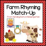 Farm Animal Rhyming Match-Up