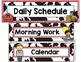 Farm Themed Schedule Cards-Classroom Decor